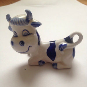 Other - Minature Polish Cow Figurine